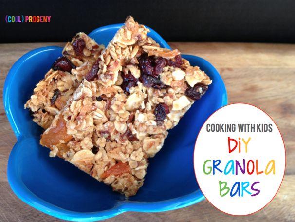 Kid-Friendly Granola Bars - (cool) progeny