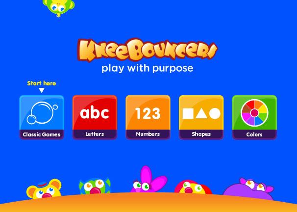 KneeBouncers App - (cool) progeny