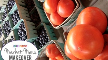 Farmer's Market Menu Makeover - (cool) progeny