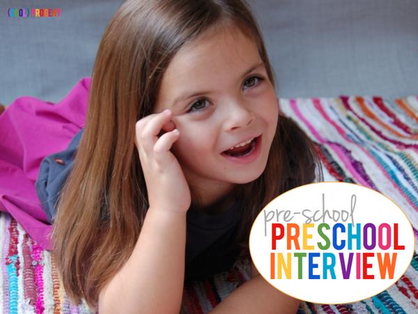 Pre-School Preschool Interview - (cool) progeny