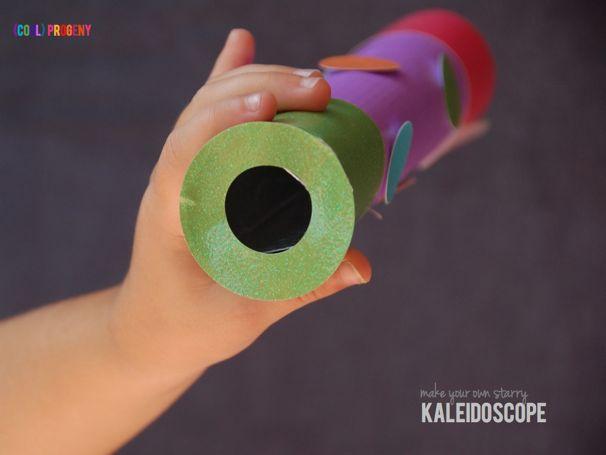 Homemade Kaleidoscope - (cool) progeny
