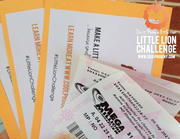 Little Lion Challenge - Lotto Ticket Ninjas