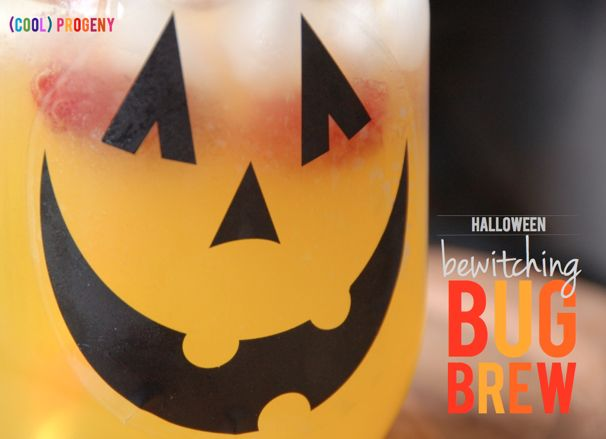 How to Make Bug Brew: Halloween Mocktail, (cool) progeny, #halloween