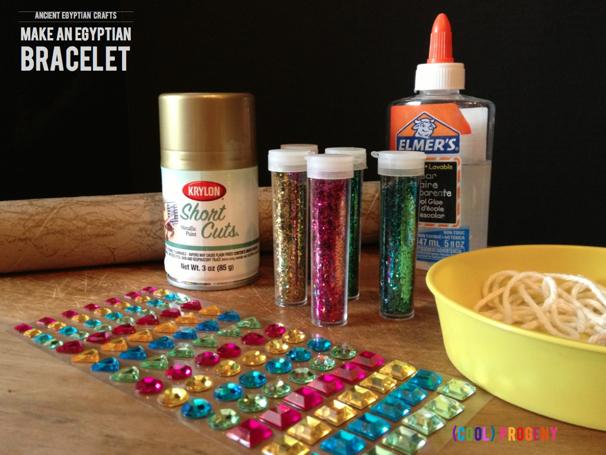 Make an Egyptian Bracelet - (cool) progeny