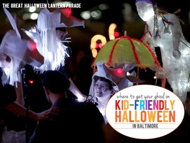 Kid-Friendly Halloween in Baltimore