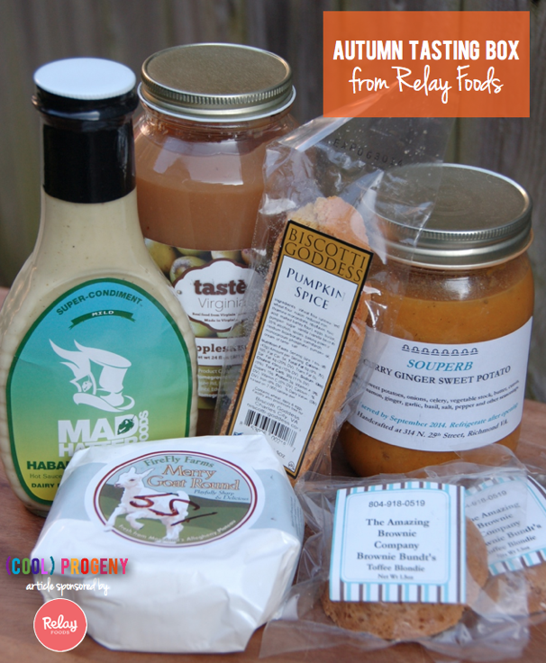 Relay Foods Autumn Tasting Kit - (cool) progeny