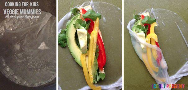 Make Your Own Veggie Mummies - (cool) progeny