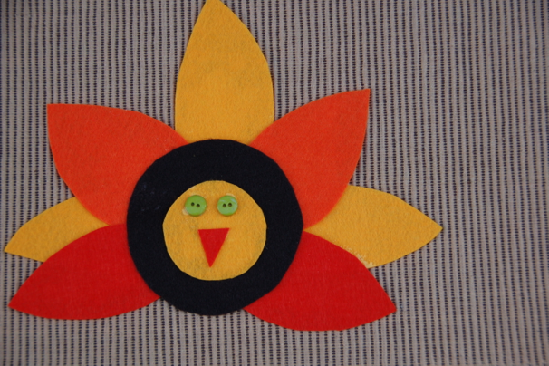 Felt Turkey Placemats - The Woohoo! Factor