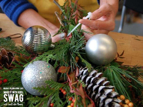 How to Make a Holiday Swag - (cool) progeny