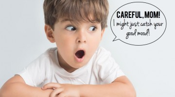 Emotions are contagious! What emotions are you passing on to your child? - (cool) progeny