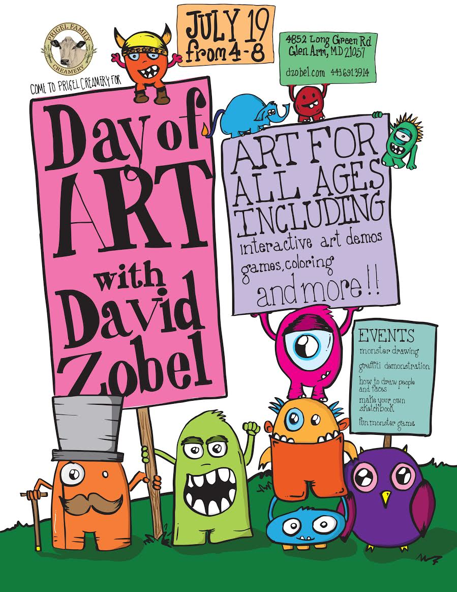 Day of Art with David Zobel
