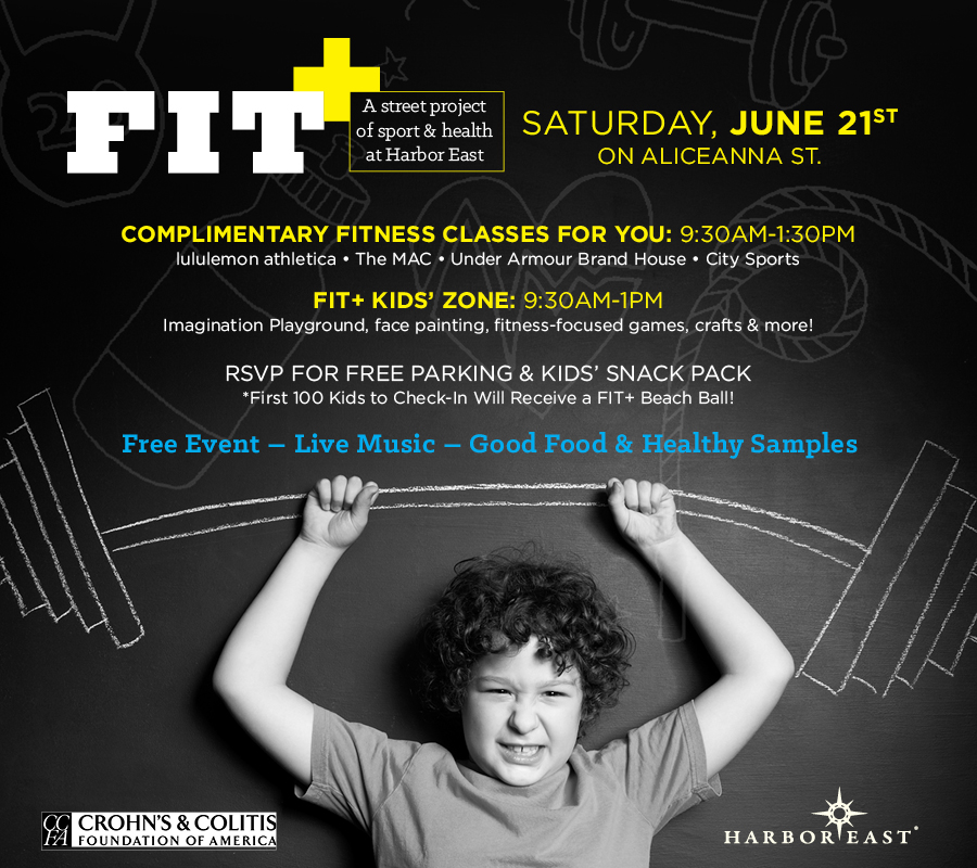 Kid Fun at Harbor East's FIT+ - (cool) progeny