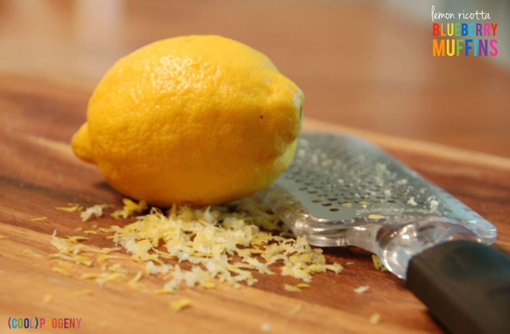 Lemon Ricotta Blueberry Muffins - (cool) progeny