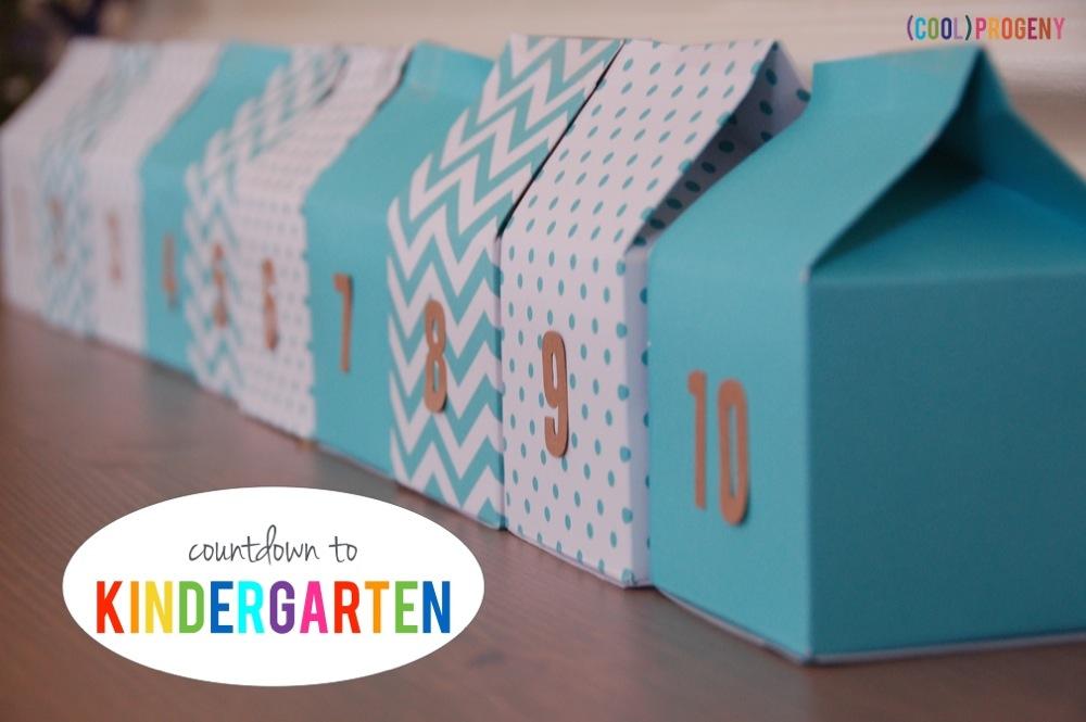 Countdown to Kindergarten - (cool) progeny