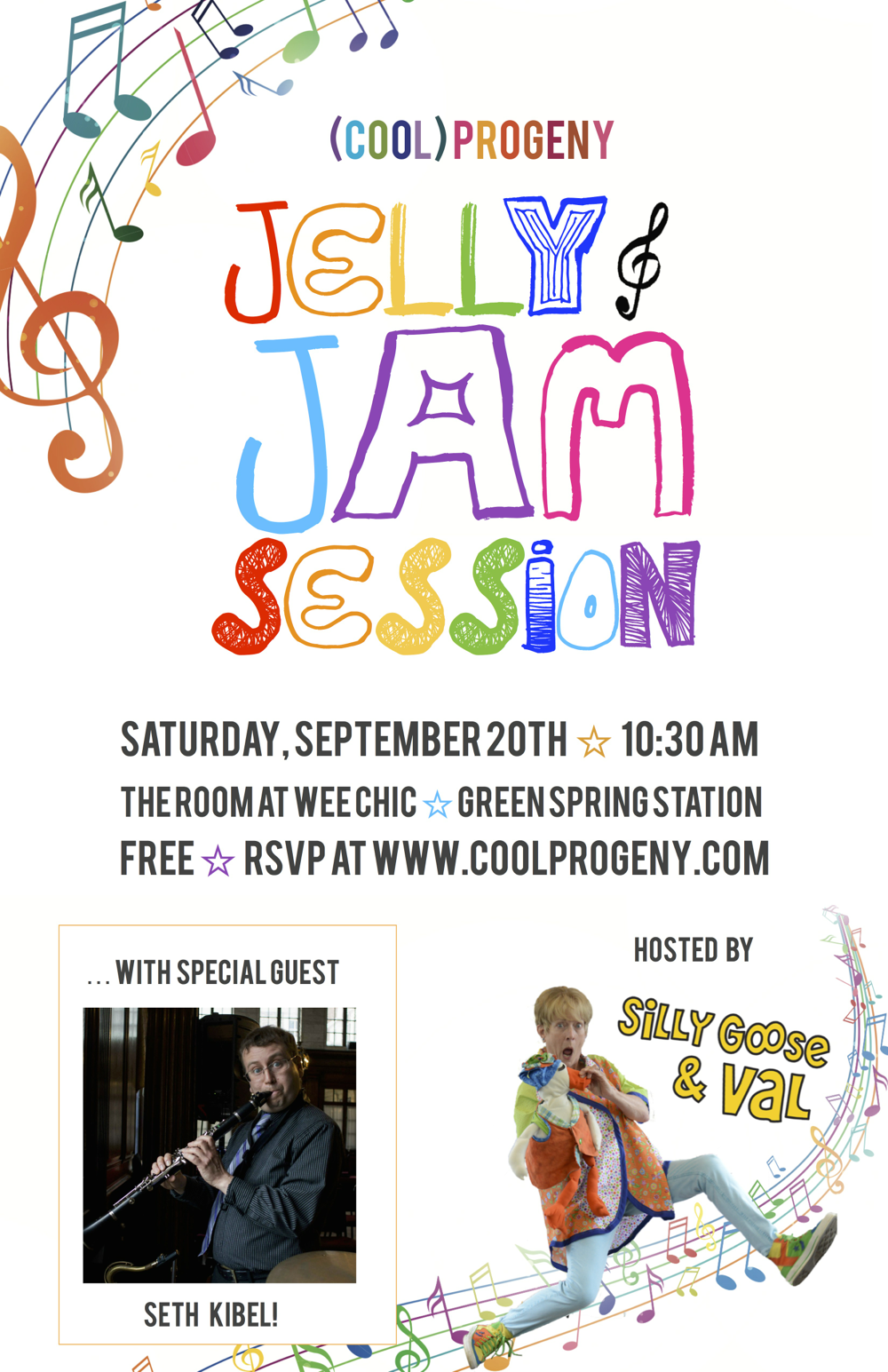 Jelly and Jam Session - September 20 - (cool) progeny