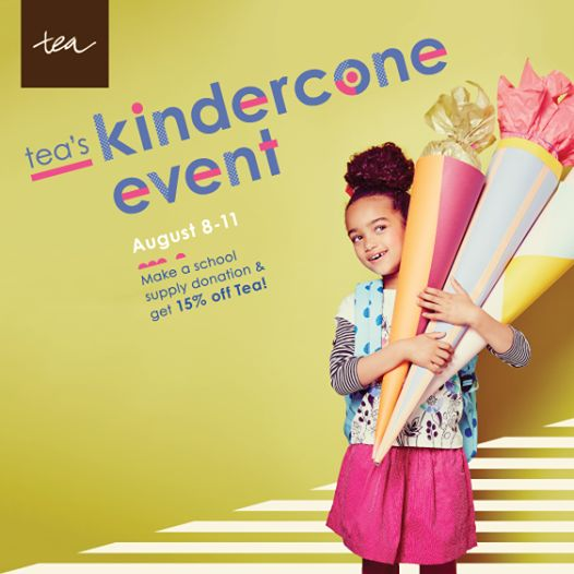 Tea Collection Kindercone Event at Wee Chic and Tiny Toes - (cool) progeny