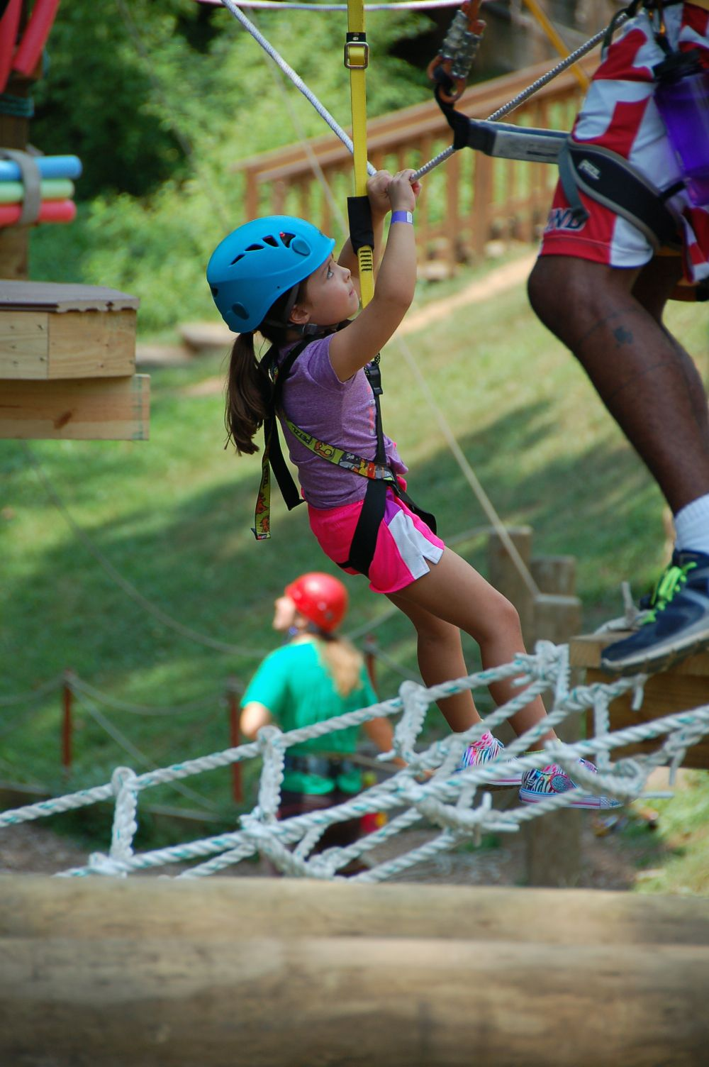 High Soaring Fun at Terrapin Adventures - (cool) progeny