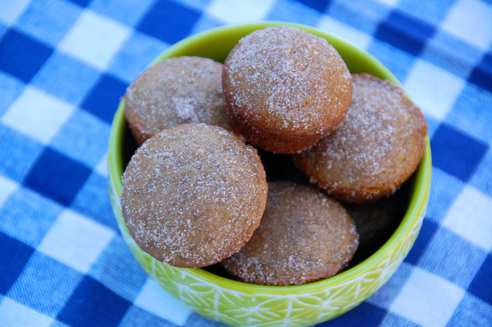 Apple Cider Mini Muffins - (cool) progeny