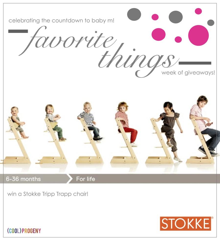 Favorite Things #Giveaway! Stokke Tripp Trapp - (cool) progeny