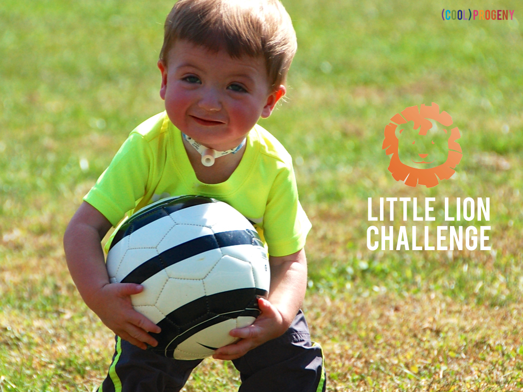Little Lion Challenge / PearUp - www.coolprogeny.com