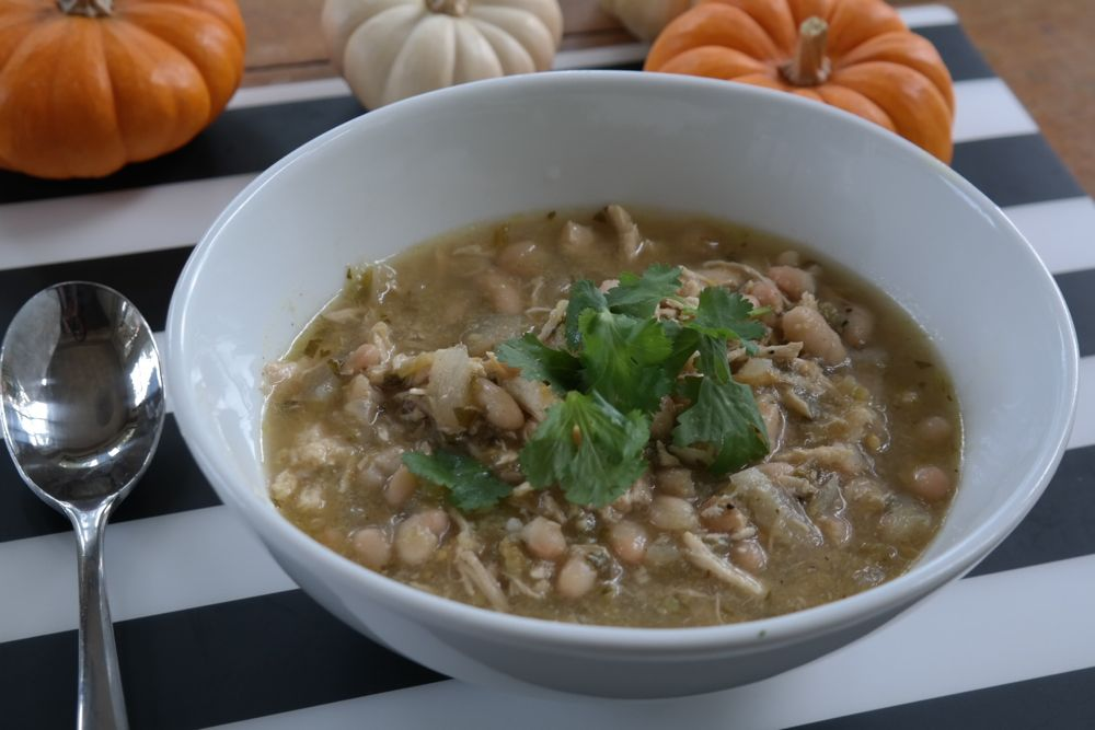 Friends Chicken Chili with Cilantro Onion Relish - (cool) progeny