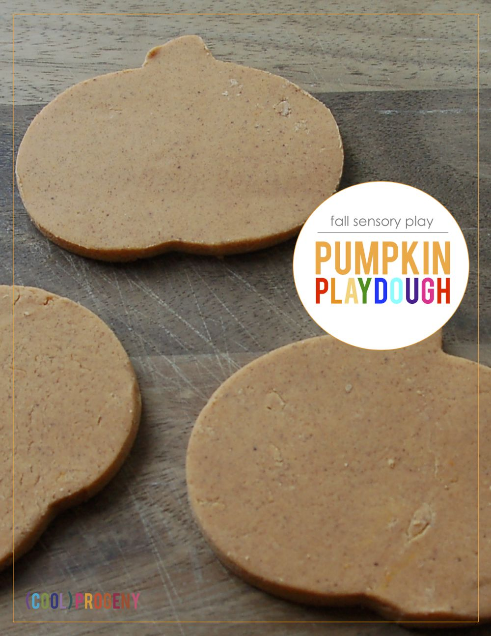 Fall Sensory Play: How to Make Pumpkin Playdough - (cool) progeny