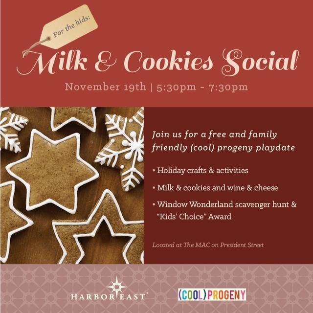 Milk + Cookies Social 2014 - (cool) progeny