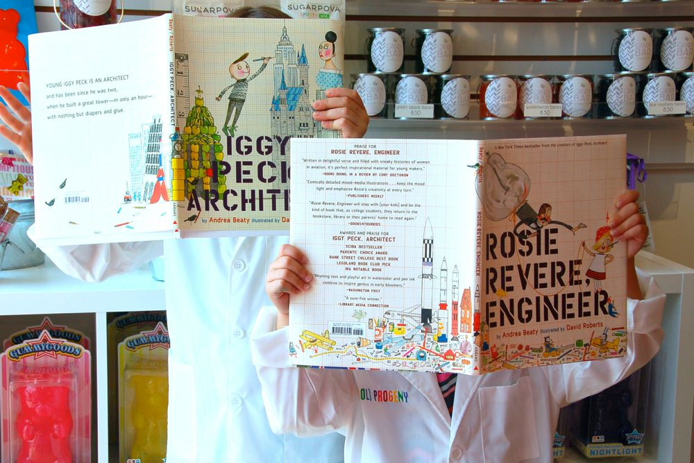 Candy Architecture: Iggy Peck Architect + Rosie Revere, Engineer - (cool) progeny