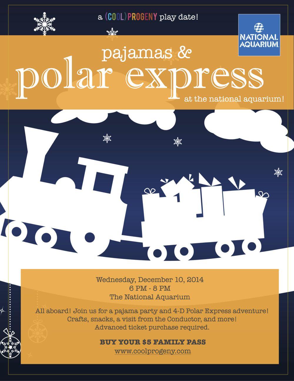 PJs + Polar Express - a (cool) progeny playdate