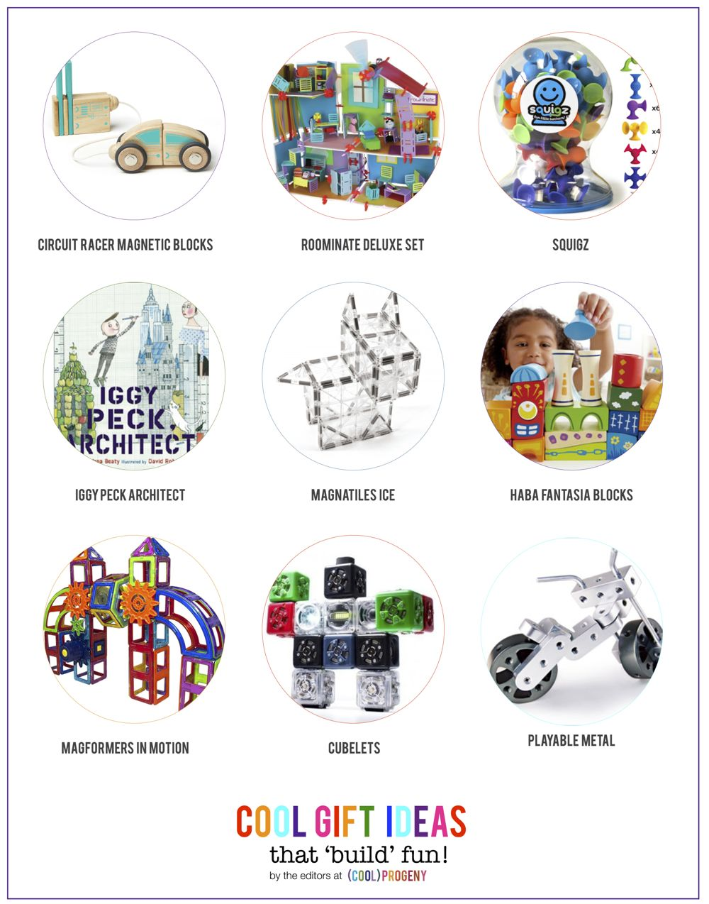 2014 Baltimore Holiday Gift Guide: Gifts for Aspiring Architects  - (cool) progeny