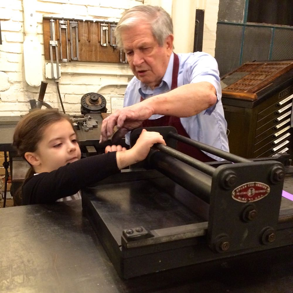 Printing at The Baltimore Museum of Industry - (cool) progeny