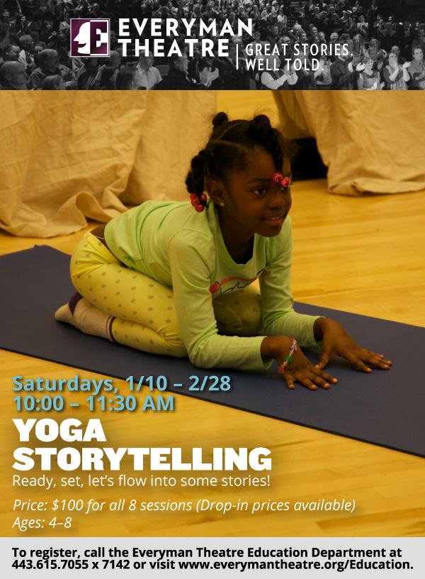 Yoga Storytelling at Everyman Theatre - (cool) progeny