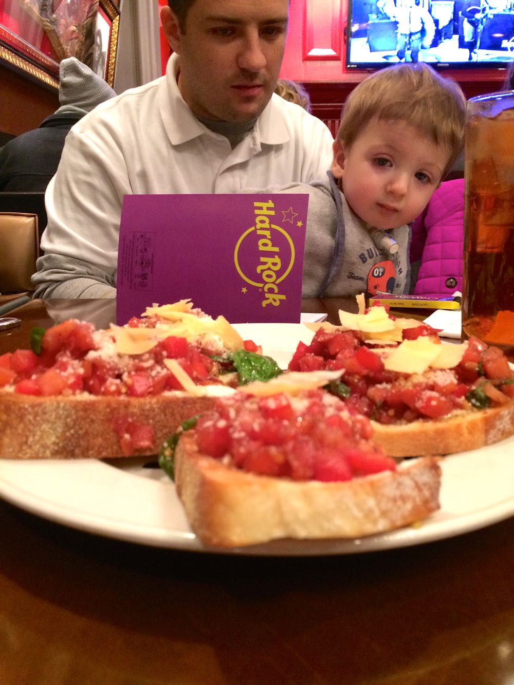 kid-friendly dining in baltimore: hard rock cafe - (cool) progeny
