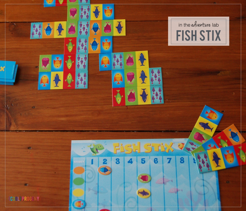 (cool) edventure lab: fish stix board game #coolprogeny #edventurelab