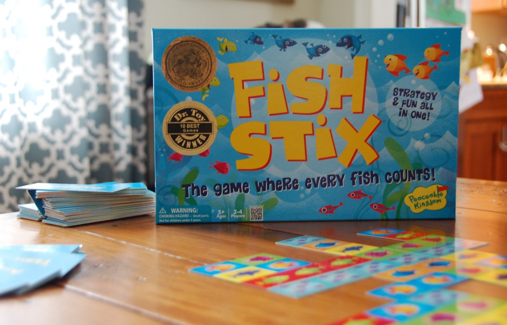 In the edventure lab fish stix cool progeny for Cool fishing games