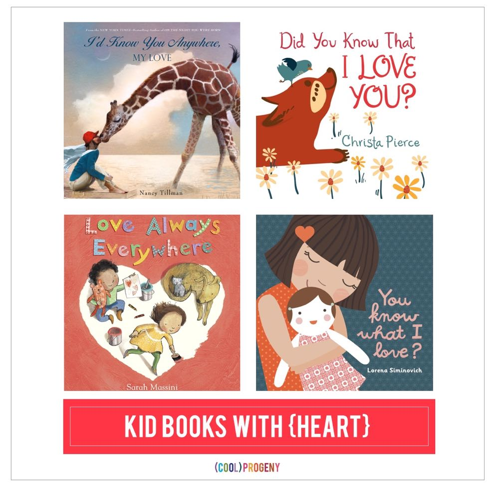 Kid Books About Love - (cool) progeny #kidlit #books #picturebooks #love #valentinesday