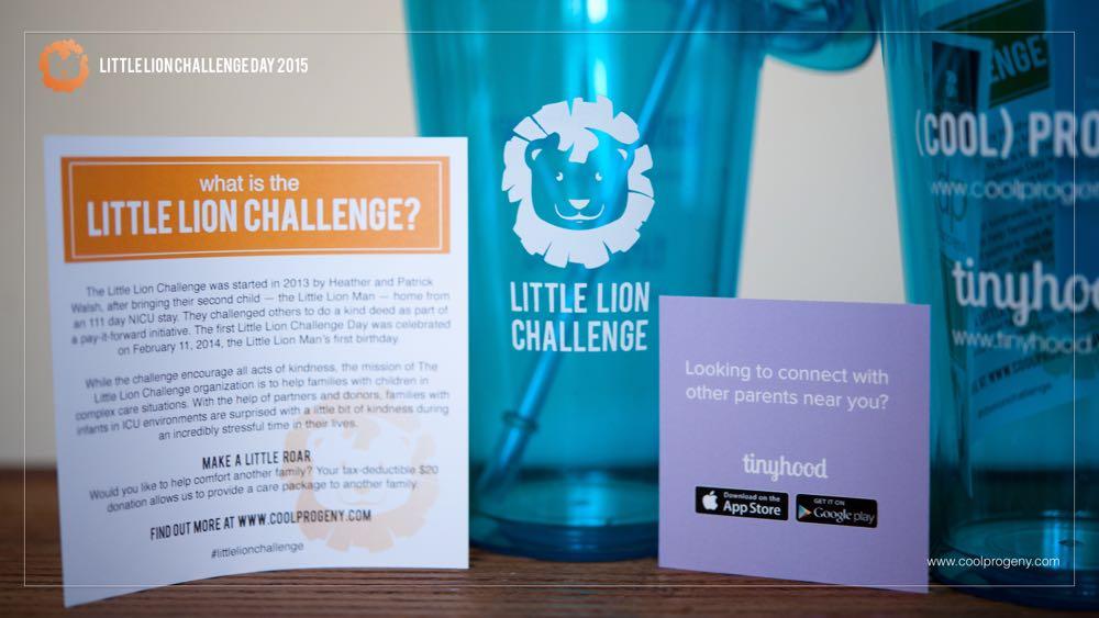 Little Lion Challenge Day 2015 - (cool) progeny #littlelionchallenge #littleroars