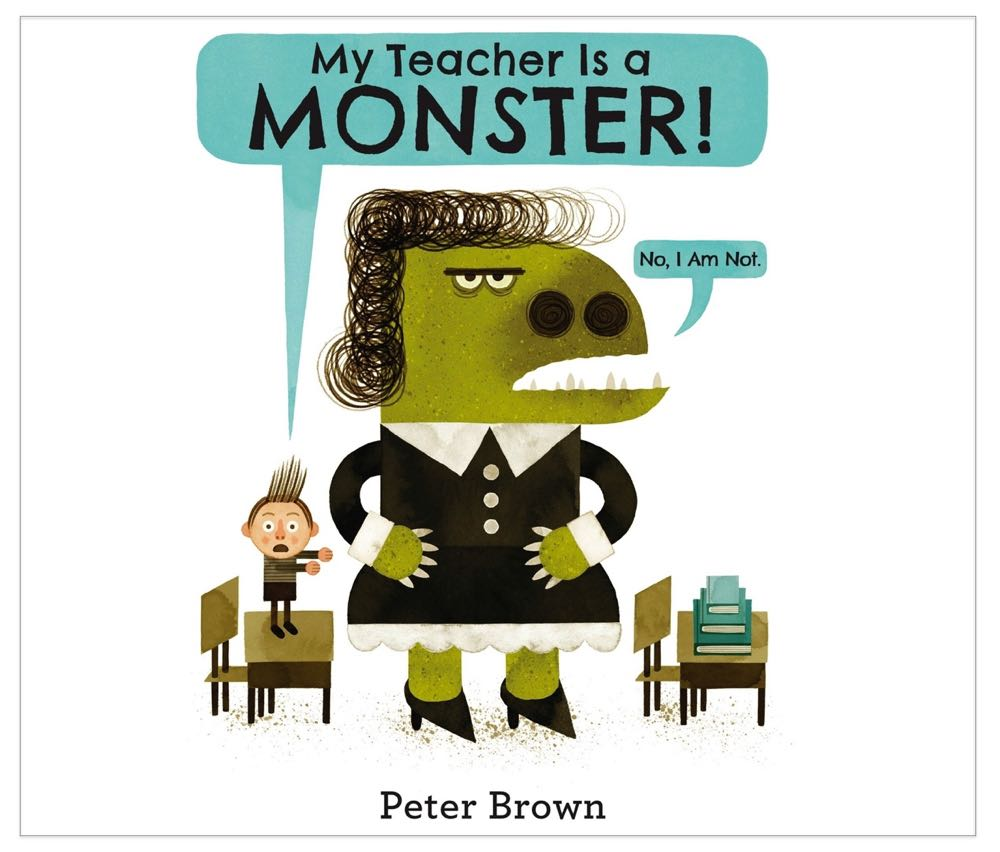 Meet Author/Illustrator Peter Brown - (cool) progeny