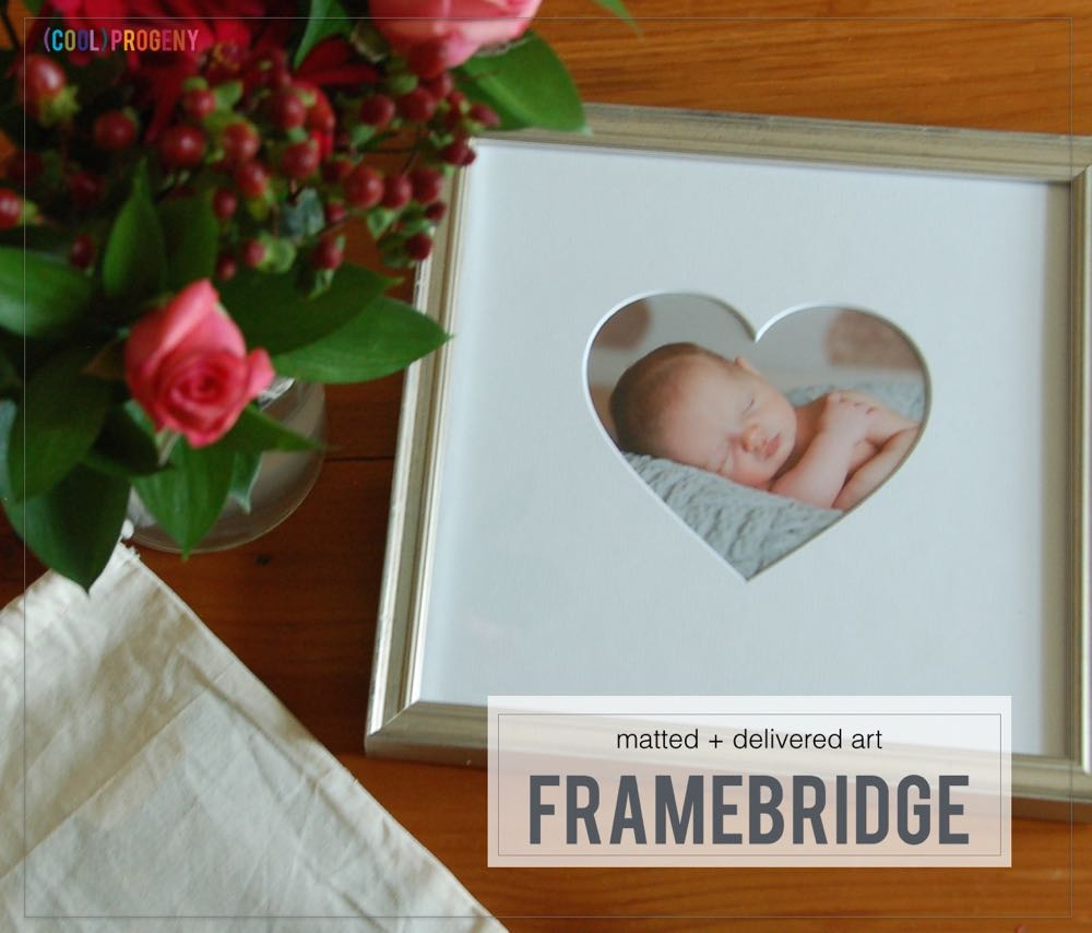 fab find: framebridge - (cool) progeny