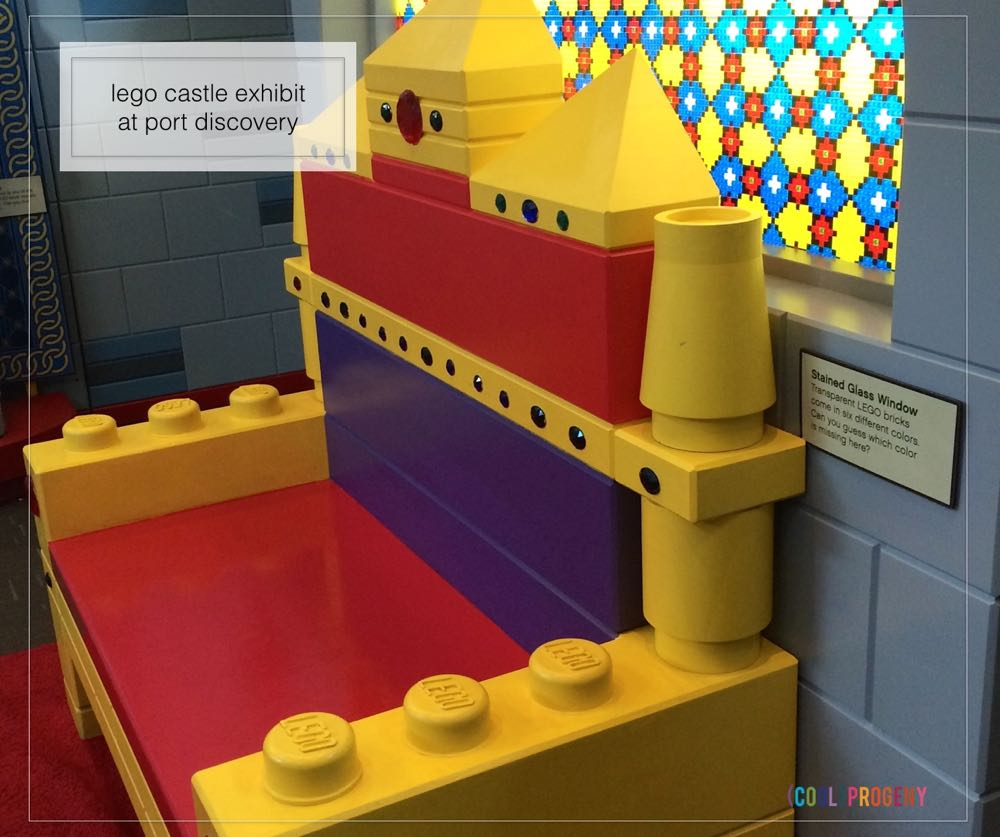 Lego Castle Exhibit at Port Discovery - (cool) progeny