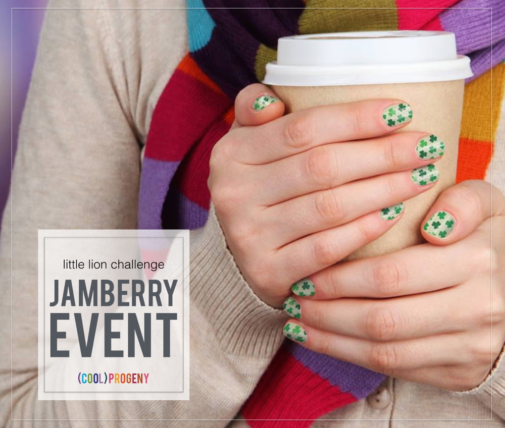 Jamberry Little Lion Challenge Event - (cool) progeny #littlelionchallenge #dothejamthing