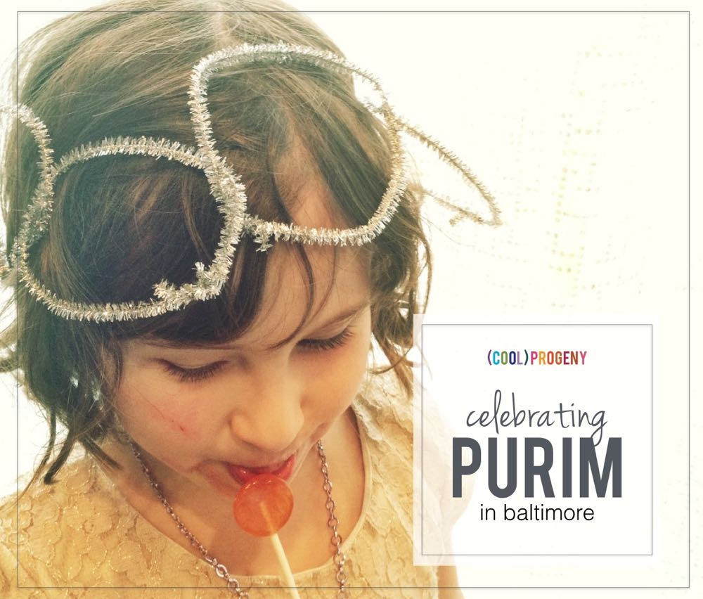 Celebrating Purim in Baltimore - (cool) progeny