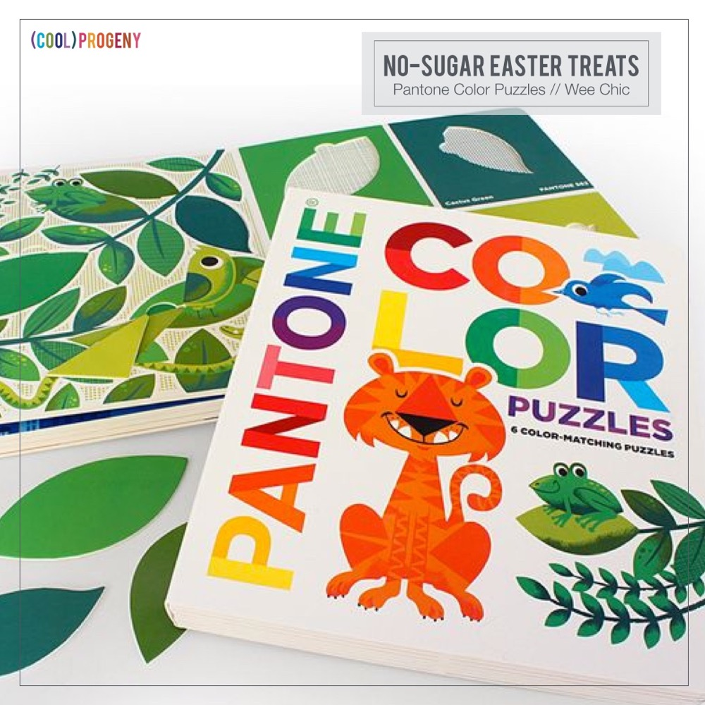 No sugar easter basket guide cool progeny easter treats without the sweet pantone color puzzles wee chic negle Choice Image