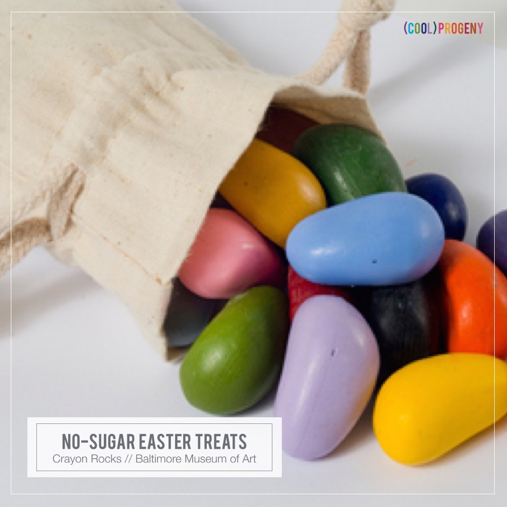 Easter Treats Without the Sweet: Crayon Rocks, The Baltimore Museum of Art