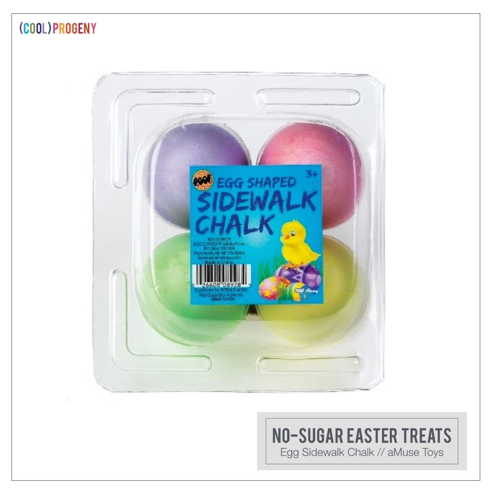 Easter Treats Without the Sweet: Egg Chalk, aMuse Toys