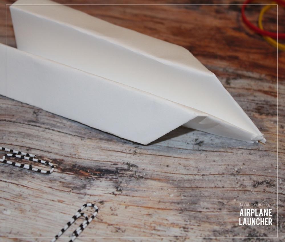 DIY Paper Airplane Launcher - (cool) progeny #engineering #coolkids #coolprogeny