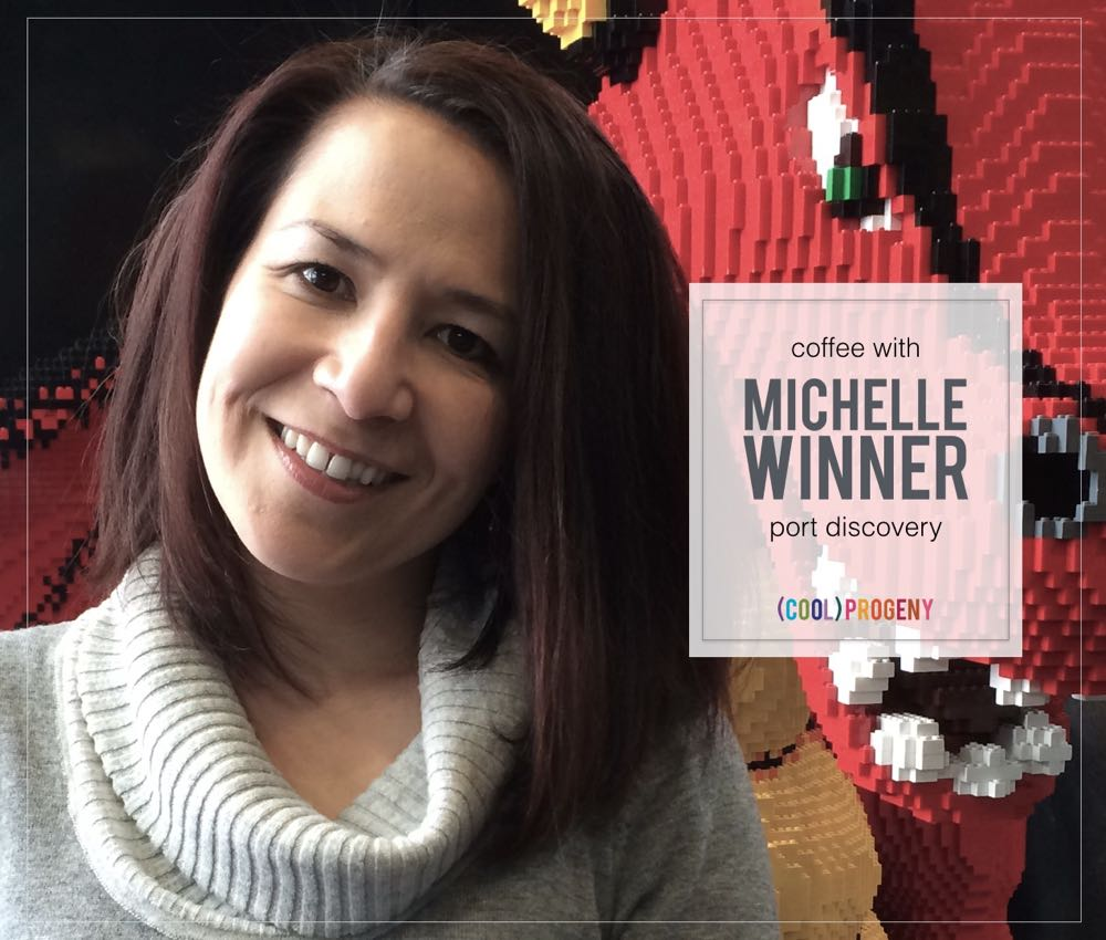 Coffee with Michelle Winner, Port Discovery - (cool) progeny #coffeewith #coolprogeny #baltimoremoms