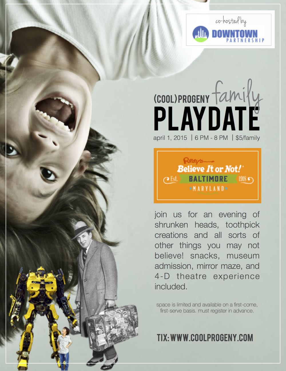 (cool) progeny family playdate: ripley's believe it or not #cpplaydate