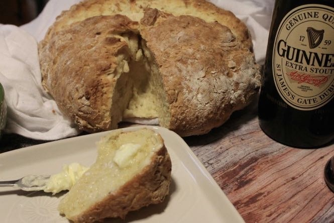 traditional irish soda bread - (cool) progeny #stpatricksday #bread #baking #coolprogeny