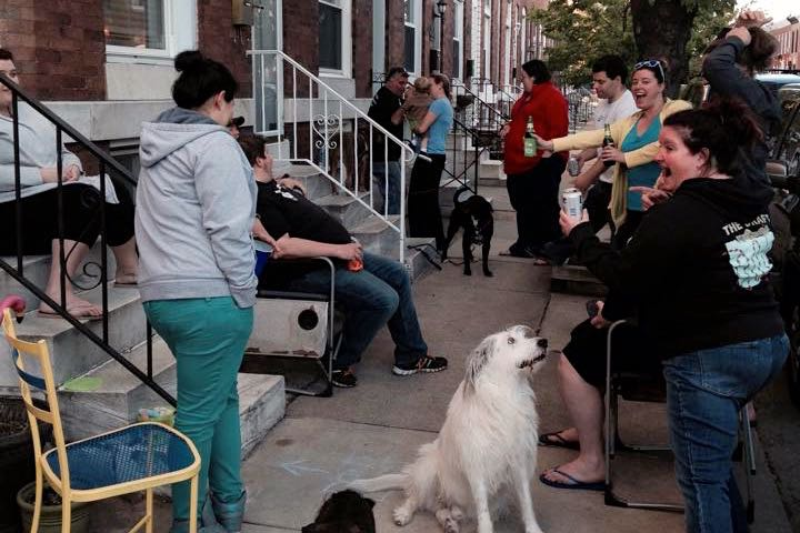 Finding Solace on the Stoop - (cool) progeny #BeMORE